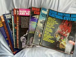 Lot Of Ten Vintage Petersens Hot Rod Basic Auto Repair Manuals Amazing Early 70s