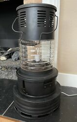 Antique Sears And Roebuck Oil Heater Electric Lamp