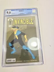 Invincible 1 - Cgc 9.6 - 1st Full Appearance Of Invincible And Omni-man