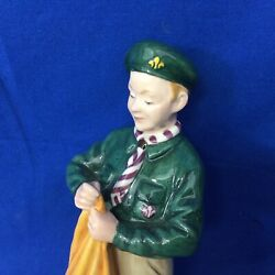 Boy Scout Vintage Royal Doulton Figurin Museum Prototype Not Produced For Sale