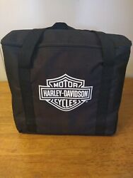 New Harley Davidson Charcoal Barbecue Bbq Grill Portable Bag Tools Utensils Set