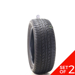 Set Of 2 Used 235/55r18 Dunlop Conquest Touring 104v - 7.5-8/32