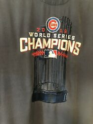 250 Tommy Bahama Mens Chicago Cubs Collectors World Series Champs Campshirt Xxl