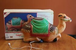 Empire Lighted Blow Mold 28 Nativity Camel With Cord Guc In Original Box