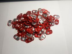 Red Monster Energy Drink Pull Tabs - 150