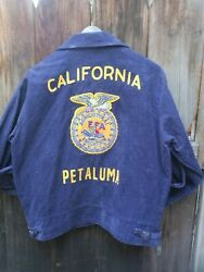Ffa Jacket New. From Californiaand039s North Coast Wine Country. Never Worn. Size 40