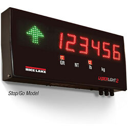 Rice Lake 175862, Stop/go 4 Led Remote Display With Vesa Flat-wall Mount
