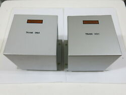One Pair 300b Tube Power Transformerssimilar Western Electric 359a For 91a 91b