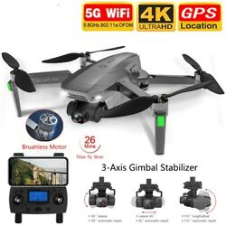 Drones Gps Usb 5g Wifi 4k Hd Mechanical Gimbal Camera Remote Control Helicopter