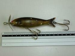 Rare Vintage Item Abbey And Imbrie Moonlight Whirling Chub Fishing Lure From Japan