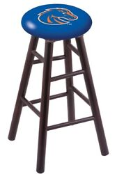 Holland Bar Stool Co. Maple Counter Stool In Dark Cherry Finish With Boise St...