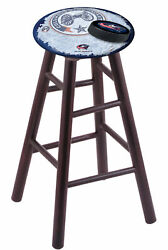 Holland Bar Stool Co. Maple Counter Stool In Dark Cherry Finish With Columbus...