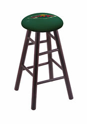 Holland Bar Stool Co. Maple Counter Stool In Dark Cherry Finish With Minnesot...