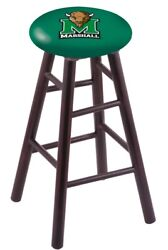 Holland Bar Stool Co. Maple Counter Stool In Dark Cherry Finish With Marshall...