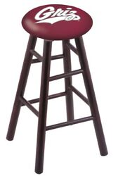 Holland Bar Stool Co. Maple Counter Stool In Dark Cherry Finish With Montana ...