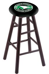 Holland Bar Stool Co. Maple Counter Stool In Dark Cherry Finish With North Da...