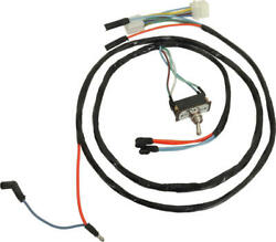 Macs Auto Parts 1965-1966 Mustang Emergency Flasher Switch And Wiring Harness,