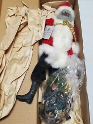 Daddy's Long Legs Collectible Doll In Original Box Santa 1992 Special Edition