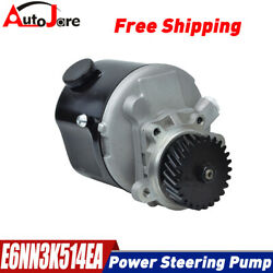 E6nn3k514ea New Power Steering Pump Fits Ford Tractor 2000 3000 4000 5000 7000