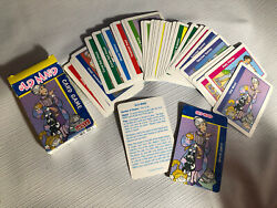 Vintage Old Maid Cards Game Complete With Box According To Hoyle Matching Pairs