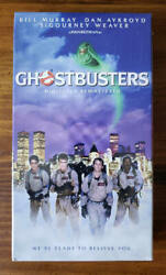 Ghostbusters Vhs Tape Factory Sealed Brand New 1999 With Watermark