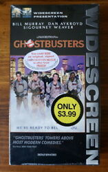 Ghostbusters Widescreen Vhs Tape Factory Sealed Brand New 1998 With Watermark