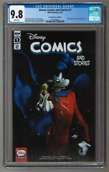 Disney Comics And Stories 1 Gabriele Dell'otto Cgc 9.8 Super Goof Sold Out