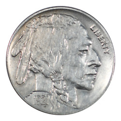 1921-s Buffalo Nickel About Uncirculated Condition
