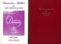 Duncan Miller Glass - History Types Pattern Identification / Book + Value Guide