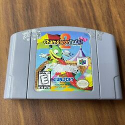 N64 Chameleon Twist 2 Nintendo 64 Cart Only Tested Authentic