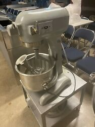 Hobart 20qt Mixer Come With Stand Bowl 3 Attachments Small Cart