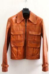 Very Rare Vintage Item East West Leather Jacket M-sized Shipping From Japan