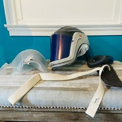 3m Versaflo M400 Painting Helmet With Respirator With New Neck Shroud And Hose.andnbsp