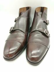 John Lobb Uk8 Leather Brown Size Uk 8 Fashion Boots 3591 From Japan