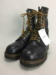Red Wing Lace-up Logger 27cm Leather 2218 Bike Biker Rogger Plater Boots