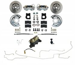 Leed Brakes Fc0001h405al 1964.5-1966 Ford Mustang Front Disc Brake Conversion