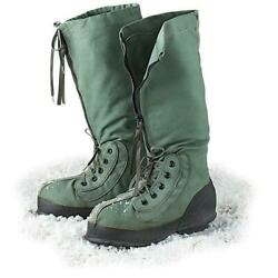 Us Military N-1b Mukluk Boots Snow Extreme Cold Weather Arctic Boots Medium Vgc