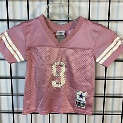 Tony Romo Dallas Cowboys Pink Toddler Jersey Baby Girl Size 2t