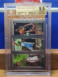 2003-04 Topps Rookie Matrix Jaw James/ Anthony/ Wade Bgs/ 9.5