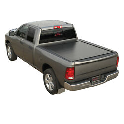 Pace Edwards Matte Black Bedlocker Bed Cover Fits 2016-2019 Toyota Tacoma 5and039 Bed