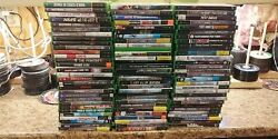785 Pcs. Lot Microsoft Xbox Games With Case Free Shipping