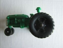 Vintage 5 Inch Hubley Kiddie Toy Green Farm Tractor With Driver