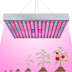 45w Led Grow Light For Indoor Plants Growing Lamp 225 Leds Uv Ir Red Blue Full