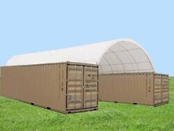New 20x40 Container Cover For Storage Containers Not Include