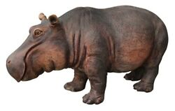Large Hippo Statue Life Size