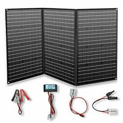 Solar Panel 150w 12v Foldable Solar Charger Portable Kit 20a Controller