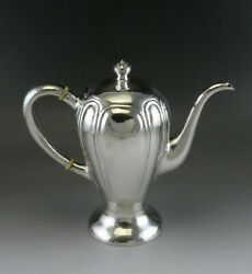 Antique American Arts Crafts Sterling Silver Art Shop Handwrought Chicago Teapot