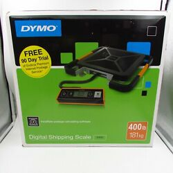Dymo 400 Lb Digital Usb Shipping Scale, With Remote Display, Black New