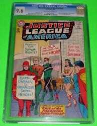 1964 Justice League Of America 28 Cgc 9.6 Ow-white Wonder Woman Jla Unemployed