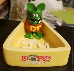 Mint Rat Fink Cheese Coin/key Tray Ed Big Daddy Rothand039s 2019 Moon Of Japan